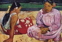 "Paul Gauguin in Tahiti / In 1891, the French artist Paul Gauguin, frustrated by lack of recognition at home and financially destitute, sailed to the tropics to escape European civilization and ""everything that is artificial and conventional."" He lived there until his death in 1903, leaving behind his most important works of art..."