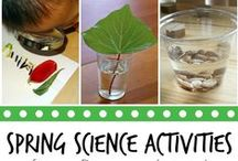 Science for Early Learners / Science activities and ideas for our littlest learners.