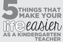 Kindergarten Teachers / Pins specific to teaching Kindergarten