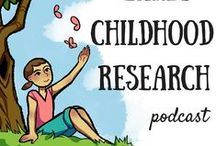 The Early Childhood Research Podcast / Each episode of The Early Childhood Research Podcast will be pinned to this board. This podcast brings all the latest research and the findings we can use straight into the home and classroom.
