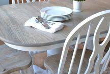 Furniture revamps / Bringing back life to old tired furniture