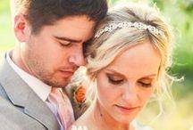 Summer weddings / Examples of summer wedding photo shoots