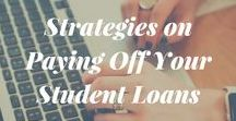 Student Loans / Tips & tricks to kick your student loan to the curb