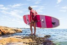 stand up paddle boarding / Global Surf Industries has a great range of #standuppaddle boards. It's a great sport for health and fitness.