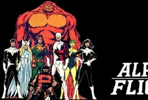 Alpha Flight Marvel Comics / Alpha Flight has always held a spot in my heart, though I'm not exactly sure why.  I really liked the comic book series that John Byrne created.  Maybe because they were borne from the X-MEN.