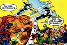 """Alpha Flight Comic Books / One of the comic book series that I followed in my childhood. These are the issues I have in my collection. I managed to keep the entire John Byrne run on the series.  The comic book title kind of floundered after Byrne left.  It's too bad.  Alpha Flight has been one of my favorite teams.  I've been fascinated by """"The Canadian version of The Avengers"""" since they first appeared in Uncanny X-MEN #120 & 121."""