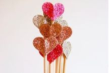 Paper Hearts / Paper crafts for rainy days and special occasions.