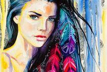 A Beautiful Mind / Beautiful and inspiring art.
