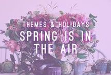 Spring Is In The Air / Themes & Holidays / Spring is known for flowers, sunshine, and fresh air! Let us help you create a party that includes farm to table food and elements that will sure to help you and your guests celebrate the change of the season.   AtlastaCatering.com