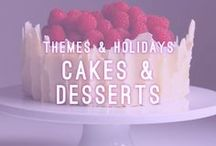 Cakes & Desserts / Themes & Dessert / Let Atlasta help make your party planning a sugary snap. Whether it is an informal gathering or an elegant affair, we have everything you need. Our delicious dessert trays and beautiful bakery cakes have been an Arizona hit since 1979.  AtlastaCatering.com