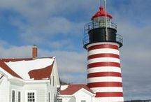 New England / Everyone needs a little New England around them. Lighthouses, Maine Lobster rolls, white picket fences. What's not to love?  / by Daisies & Pie