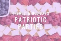 Patriotic Parties / Themes & Holidays / Who does not love a good Fourth of July BBQ?! At Atlasta, we have an array of BBQ options that will make your  Memorial Day, Veterans Day, and backyard bash one to remember.