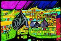 Hundertwasser / by Catherine Maudet
