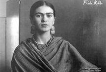 Frida Kahlo y Fridas / by Catherine Maudet