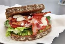 Sandwiches / Quite simply sandwiches. Fabulous sandwiches, gourmet sandwiches, picnic sandwiches, just make me a sandwich / by Daisies & Pie