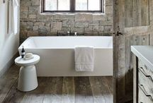 Bathroom / A little bathroom style, bathroom interiors, bathroom design, bathroom ideas, bathroom storage / by Daisies & Pie
