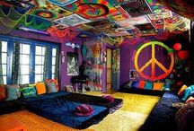 Decoration / I always imagine to having a cool room!