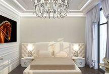 Bedroom interior design / Дизайн проект интерьера спальни. Архитектор Ирина Рихтер. INSIDE-STUDIO Prague
