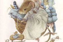 Marjolein Bastin Mouse Vera / Beautiful art work ......love it.