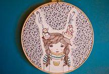 Embroidery Art / by Didi Klain