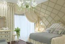 Дизайн проект интерьера спальни в загородном доме / Дизайн проект интерьера спальни в загородном доме. Карловы Вары,Чехия.