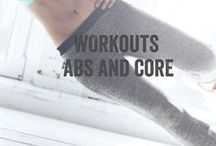 Fitness - Abs and Core / Core workout? And hardcore ab training. 6 pack, lower abs and waist reducing workouts.  Ab challenge, fitball, weighted ab exercise, standing ab workout and more.