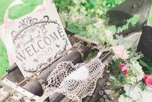 Vintage Vows / Inspiration for a vintage themed wedding.