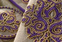 Beaded embroidery / Must try this one day.......