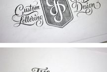 Lettering ( by hand ) / Shall have to learn .......