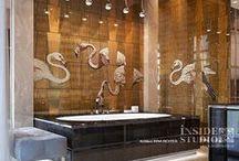 Дизайн интерьера ванной комнаты / Дизайн интерьера ванной комнаты. Архитектор дизайнер Irina Richter  Inside-Studio