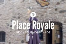 Place Royale / Explore the neighbourhood where the colony of New France (now Québec City) was first established.   Fun fact: Notre-Dame-des-Victories stands upon the same ground where the first fur trading post was built by Samuel de Champlain.