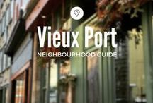 Vieux Port / Antique shops, bistros, museums, and a delightful farmer's market: Québec City's Vieux Port (Old Port) neighbourhood is our weekend getaway within the city.