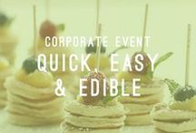 Quick, Easy & Edible / Corporate Event / At Atlasta we are dedicated to providing you with the finest and most professional service available. Our catering teams are committed to attending to all of your needs. We specialize in starting your morning huddle with our efficiently easy breakfast options.  AtlastaCatering.com