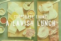 A Lavish Lunch / Corporate Event / A midday lunch gathering at your office can be will sorted by our expert team. Let Atlasta Catering do what we do best.  AtlastaCatering.com