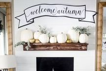 FALL/THANKSGIVING / Everything fall, everything thanksgiving, fall decor, thanksgiving decor, fall decorations, thanksgiving decorations, fall crafts, thanksgiving crafts, fall food, thanksgiving food