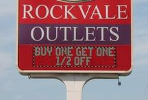 Out and About Rockvale Outlets / A glimpse into our property!