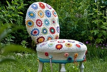 Creating Chairs!!!! / My favorite thing to refinish....these inspire me. / by Adrieanna Dodson