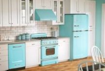 DREAM KITCHENS / My favorite part of the home is the kitchen. Here are some kitchens that showcase what that means to me. I LOVE THEM ALL! / by Yolanda Gordon