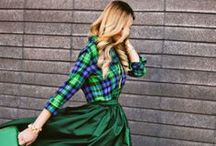 Clothing Obsession #5 (Plaid) / by Kat d