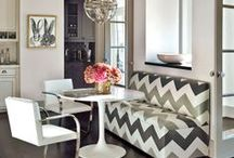 Dining Rooms & Nooks / by Kat d