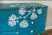 Furniture re-do with paint / by Terhi Ilander