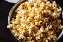 Popcorn Recipes / Popcorn is a healthy and easy snack. Here are some recipes for fancy popcorn, sweet popcorn, chocolate popcorn, cheesy popcorn, party popcorn and popcorn snack mixes.