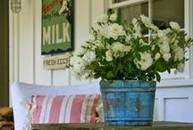 ENTRYWAY / This board is full of entryway inspiration!  It's a mixture of rustic, farmhouse entryways to clean, modern entryways.