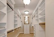 CLOSETS / This board is a compilation of pretty and organized closets.