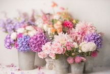 FLOWERS / Love flowers as much as I do?  They're the perfect accessory to your tablescape, vintage metal bucket or white picket fence!  You'll see oh-so-much inspiration in this board!