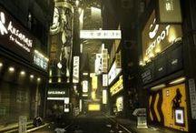 Cyberpunk Env / Environment Inspiration