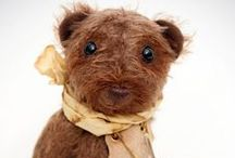 My Artist Bears / I make artist hand made collectable bears, companions for your life, silent listeners, cute creatures.