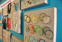 ♥ Jewelry Storage Ideas / Ideas and inspirations for storing and organizing jewelry