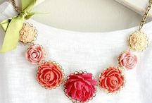♥ Handmade Jewelry / Handmade necklaces, earrings, rings, bracelets and more.