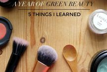 ♥ Fave Green Beauty Bloggers / This board is all about green beauty products and tips shared by green beauty bloggers.